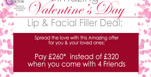 Birmingham injectable fillers special valentine's day