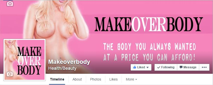 Make Over Body Facebook