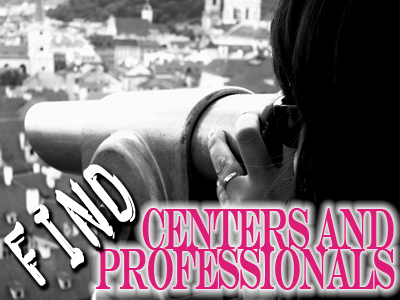 find centers and professionals